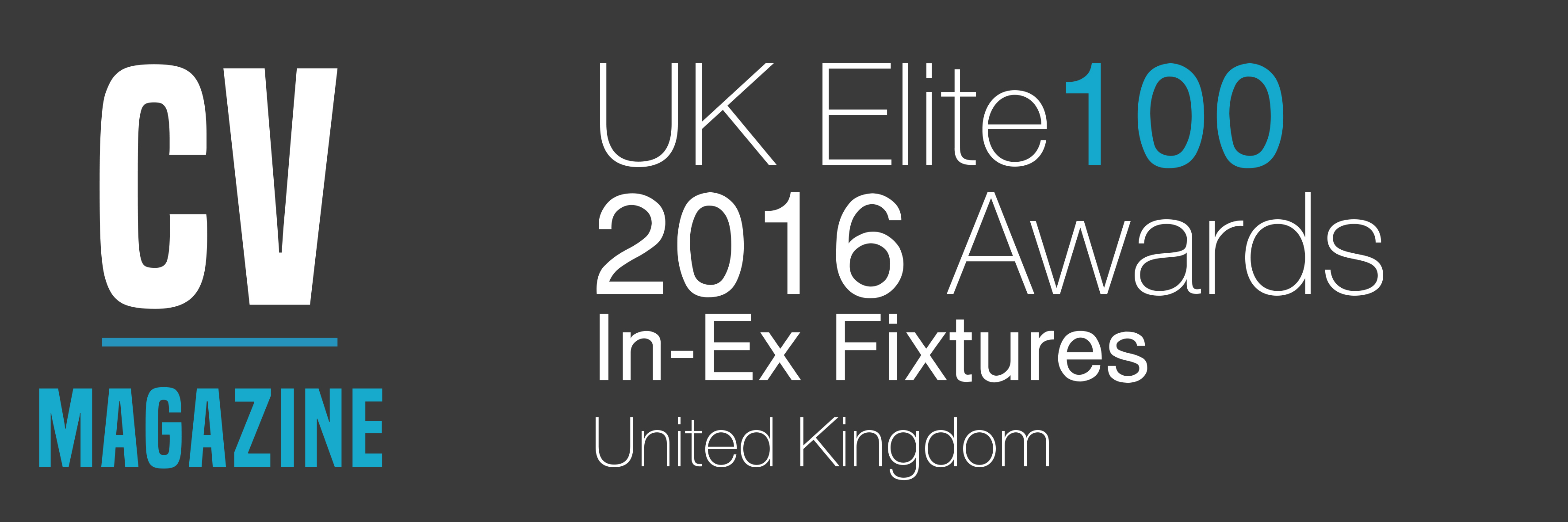 In-Ex Fixtures - UK Elite 100 Awards (1608AC93) Winners Logo